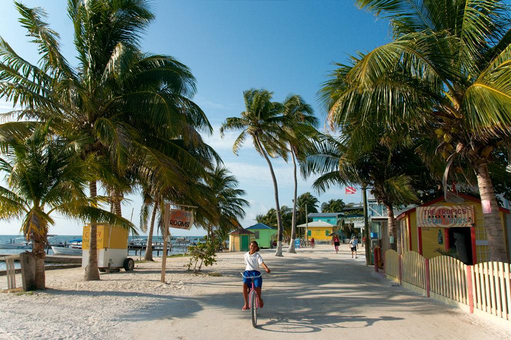Pohoda na Caye Caulker, Belize