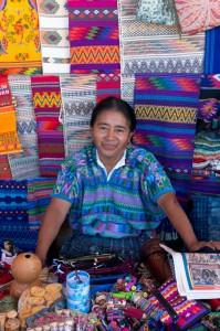Trh v Cobáne, Guatemala