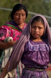 Majské ženy, Západna Vysočina, Guatemala