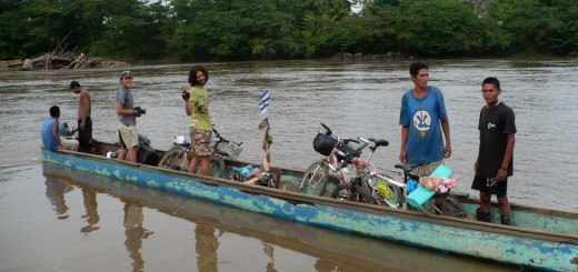 Crossing the Rio Coco