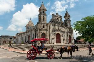 Kostol 'Iglesia Guadalupe' v Granade, Nikaragua