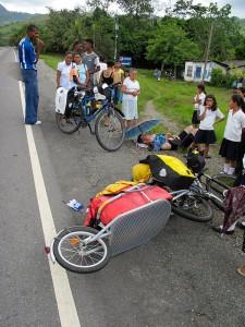 Martin pri nehode, Tela, Honduras