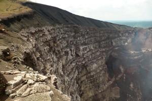 Kráter vulkánu Masaya, Nikaragua
